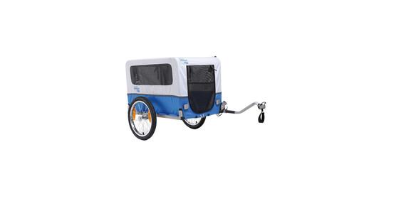 XLC Doggy Van - Remolques - azul/blanco